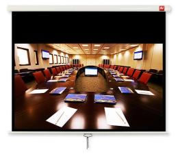 Ekran projekcyjny Avtek Ekran ręczny 107' 230x129,5 16:9 Biały Matowy