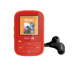 Odtwarzacz MP3 SanDisk Clip Sport Plus 16GB czerwony (bluetooth,tuner FM)