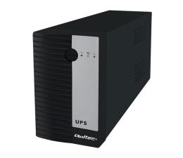 Zasilacz awaryjny (UPS) Qoltec UPS (1000VA/600W, IEC, 3xSchuko)