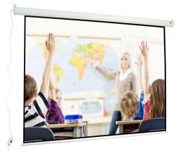 Ekran projekcyjny Avtek Ekran elektryczny 118' 240x180 4:3 Biały Matowy