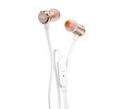 Słuchawki przewodowe JBL T290 Biało-złote