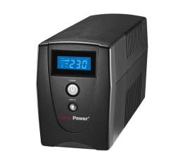 Zasilacz awaryjny (UPS) CyberPower UPS Value1000EILCD (1000VA/550W, 3xIEC, AVR)
