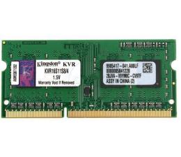 Pamięć RAM SODIMM DDR3 Kingston 4GB 1600MHz CL11 1.5V