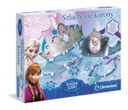 Zabawka plastyczna / kreatywna Clementoni Frozen Szlachetne korony