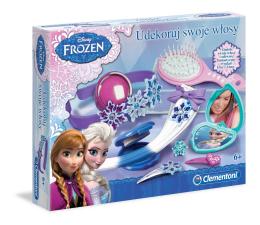 Zabawka plastyczna / kreatywna Clementoni Frozen Udekoruj swoje włosy