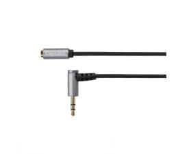 Kabel Kruger&Matz Wtyk kątowy - gniazdo Jack 3,5mm stereo 1,8m