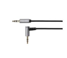 Kabel Kruger&Matz Wtyk kątowy - wtyk prosty Jack 3,5mm stereo 3,0m
