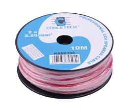 Kabel CABLETECH Kable głośnikowe CCA 2.5mm 10M