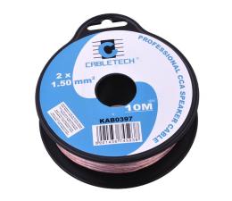 Kabel CABLETECH Kabel Głośnikowy CCA 1.5mm 10M