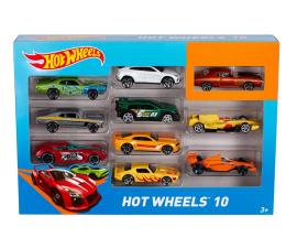 Pojazd / tor i garaż Hot Wheels Zestaw samochodzików 10 pack