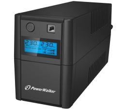 Zasilacz awaryjny (UPS) Power Walker VI 650 SE LCD (650VA/360W, 2xPL, USB, LCD, AVR)