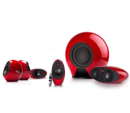 Głośniki komputerowe Edifier 5.1 Luna Theatre E255 (czerwone)