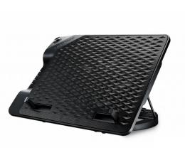 """Podstawka chłodząca pod laptop Cooler Master NotePal Ergostand III (do 17"""", 4x USB, czarna)"""