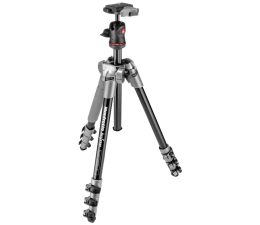 Statyw Manfrotto BeFree + Głowica szary