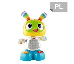 Zabawka dla małych dzieci Fisher-Price Robot BEBO Tańcz i śpiewaj ze mną!
