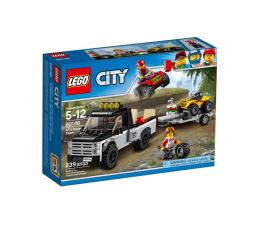 Klocki LEGO® LEGO City Wyścigowy zespół quadowy