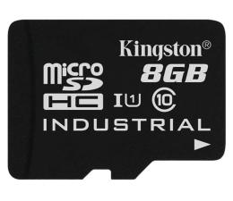 Karta pamięci microSD Kingston 8GB microSDHC UHS-I zapis 20MB/s odczyt 90MB/s
