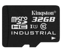 Karta pamięci microSD Kingston 32GB microSDHC UHS-I zapis 45MB/s odczyt 90MB/s