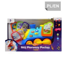 Zabawka dla małych dzieci Dumel Discovery Pojazdy Pierwszy Edukacyjny Pociąg 42310
