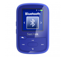 Odtwarzacz MP3 SanDisk Clip Sport Plus 16GB niebieski(bluetooth,tuner FM)