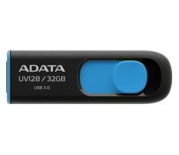 Pendrive (pamięć USB) ADATA 32GB DashDrive UV128 czarno-niebieski (USB 3.1)