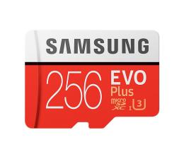 Karta pamięci microSD Samsung 256GB microSDXC Evo Plus zapis 90MB/s odcz 100MB/s