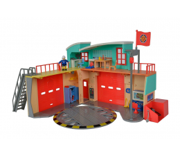 Figurka Simba Strażak Sam Stacja ratunkowa Remiza