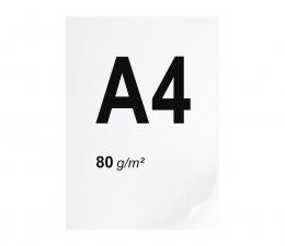 A4 ryza 500 szt. 80g/m (papier A4 1105)