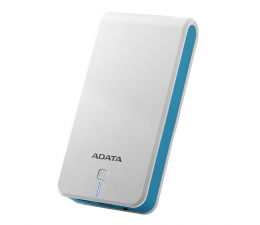 ADATA Power Bank P20100 20100 mAh 2.1 A biało-niebieski (AP20100-5V-CWHBL)