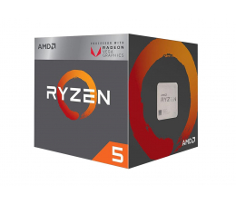 AMD Ryzen 5 2400G 3,6GHz (YD2400C5FBBOX)