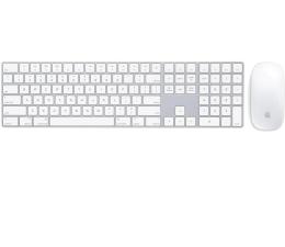Apple Magic Keyboard z Polem Numerycznym + Magic Mouse 2 (MQ052Z/A+MLA02ZM/A)
