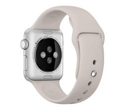 Apple Silikonowy do Apple Watch 38 mm piaskowy (MLKW2ZM/A)