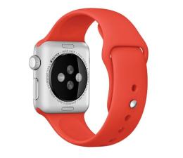 Apple Silikonowy do Apple Watch 38 mm pomarańczowy (MLD92ZM/A)