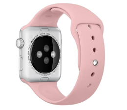 Apple Silikonowy do Apple Watch 42 mm bladoróżowy (MLDR2ZM/A)