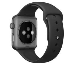 Apple Silikonowy do Apple Watch 42 mm czarno-szary (MJ4N2ZM/A)