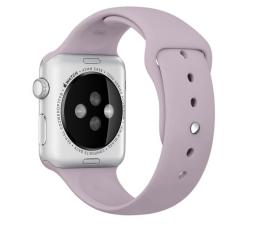 Apple Silikonowy do Apple Watch 42 mm lawendowy (MLL22ZM/A)