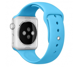 Apple Silikonowy do Apple Watch 42 mm niebieski (MLDL2ZM/A)