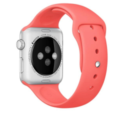 Apple Silikonowy do Apple Watch 42 mm różowy (MJ4T2ZM/A)