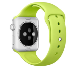 Apple Silikonowy do Apple Watch 42 mm zielony (MJ4U2ZM/A)