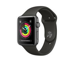 Apple Watch 3 38/SpaceGray Aluminium/GraySport GPS (MR352MP/A)