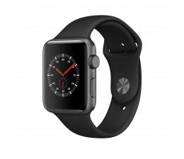 Apple Watch 3 42/SpaceGray Aluminium/BlackSport GPS (MQL12MP/A)