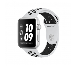 Apple Watch Nike+ 38/Silver Aluminium/Pure Platinum GPS (MQKX2MP/A)