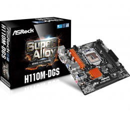 ASRock H110M-DGS (H110 PCI-E DDR4)