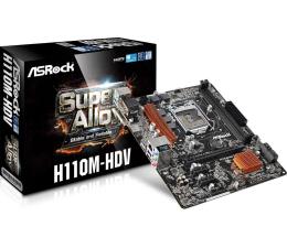 ASRock H110M-HDV (PCI-E DDR4)