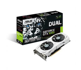 ASUS GeForce GTX 1060 DUAL 3GB DDR5 (DUAL-GTX1060-3G)