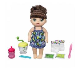 Baby Alive Słodka przekąska brunetka (E0587)