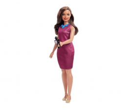 Barbie Kariera 60 urodziny Lalka Reporterka (GFX23 GFX27)