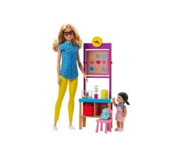 Barbie Nauczycielka blondynka Zestaw z laleczką  (DHB63 FJB29)