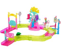 Barbie On The Go Zestaw Wesołe Miasteczko z lalką  (FHV70)