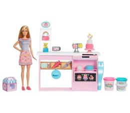 Barbie Pracownia Wypieków + Lalka (GFP59)